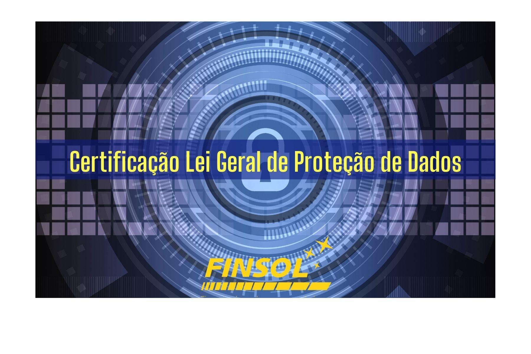 Certificação Lei Geral de Proteção de Dados